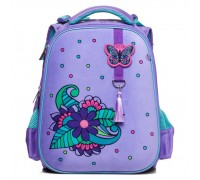 Рюкзак ERGONOMIC Classic Фиолетовый шик для девочки, начальная школа