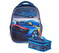 Рюкзак Hatber ERGONOMIC plus АВТО для мальчика начальная школа