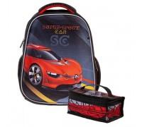 Рюкзак Hatber ERGONOMIC light Super Sports Car для мальчика, начальная школа