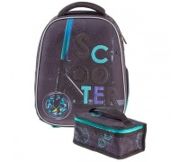 Рюкзак ERGONOMIC plus СКУТЕР для мальчика, начальная школа