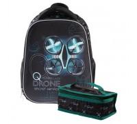 Рюкзак ERGONOMIC light DRONE для мальчика, начальная школа
