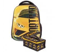 Рюкзак Hatber ERGONOMIC light Top Speed для мальчика, начальная школа