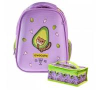 Рюкзак ERGONOMIC light AVOCATO для девочки, начальная школа