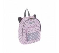 Рюкзак Mini ErichKrause EasyLine Animals 6L Little Scottie дошкольный для девочки